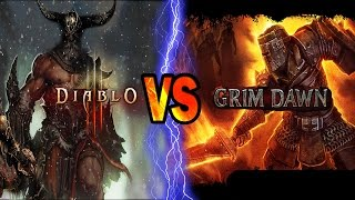 Grim Dawn VS Diablo 3 ROS -- An Honest In-Depth Look – [ Comparison Video ]