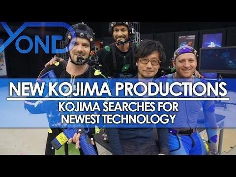 New Kojima Productions - Kojima Searches For Newest Technology