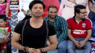 Mah e Meer Movie Cast in Jeeto Pakistan 24 April 2016 With Fahad Mustafa