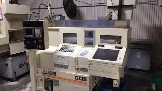 2006 Tecno-Wasino G-05 2-Axis CNC gang-type production lathe (SOLD)