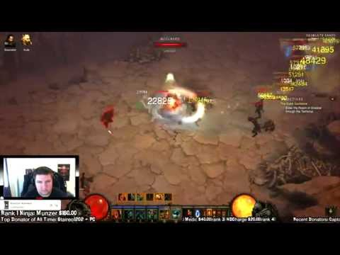 Patch 1.0.8 - 150m Exp Per Hour - Desolate Sands Run Diablo 3