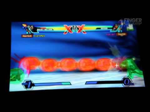 Rocket Raccoon and Arthur Hitboxes Ultimate Marvel Vs Capcom 3