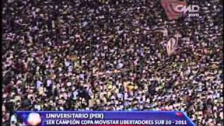 Universitario Campeon Copa Libertadores Sub-20 vs Boca Juniors