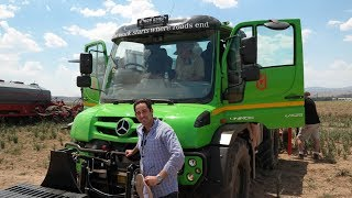 Mercedes Benz Unimog U529 (2018 ) Review - The Work Starts When The Road Stops