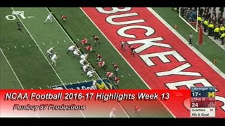 NCAA Football 2016-17 Highlights Week 13