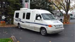 04 Used Winnebago Rialta 22QD for sale at Barrington Motor Sales in Bartlett, Illinois