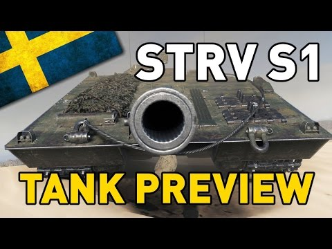World of Tanks || STRV S1 - Tank Preview