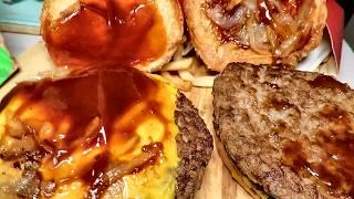 Close Up Of McDonald's BBQ Beef Burger // McDonald Malaysia