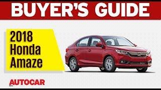 2018 Honda Amaze   Which Variant to Buy   Autocar India