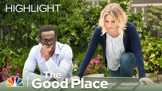 The Good Place - Eleanor has it Bad for Chidi (Episode Highlight)