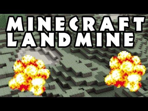 #Minecraft 100% Undetectable TNT Trap / Mine Field Tutorial