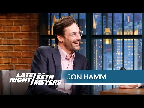 Jon Hamm and Amy Poehler Had an Emmy Party Just for the Losers - Late Night with Seth Meyers