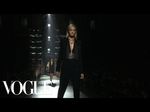 Lanvin Ready to Wear Spring 2013 Vogue Fashion Week Runway Show