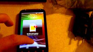 HTC Sensation XE (Beats Audio) - First Time Boot!