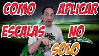 Como aplicar escalas no solo - Marc Snow