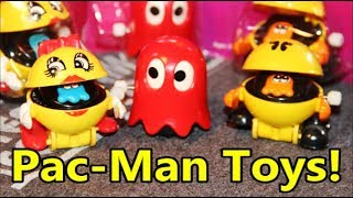 Pac Man Wind Up Toys Review with Ms Pacman & Ghost - The No Swear Gamer