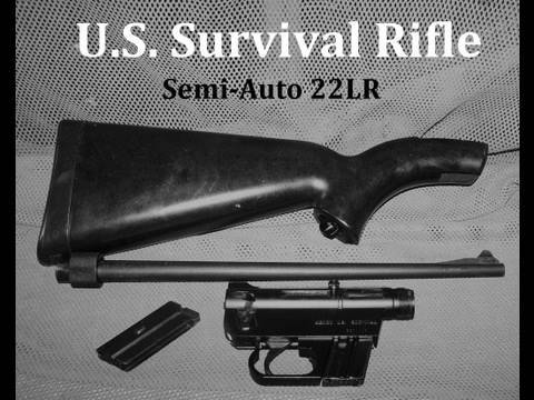 U.S. Survival Rifle 22LR   Semi-Auto AR-7  Henry Repeating Arms