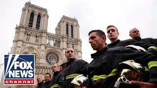 Notre Dame Cathedral fire is out, French firefighters say