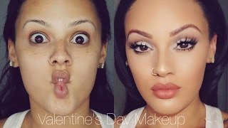 Soft Valentine's Day Makeup | Viva_Glam_Kay