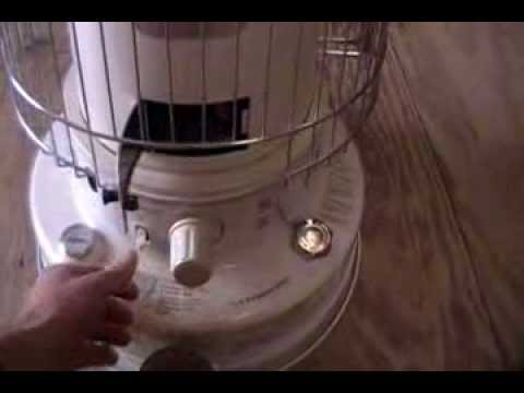 How to: Maintaining. Starting. and Running a Kerosene Heater and Review