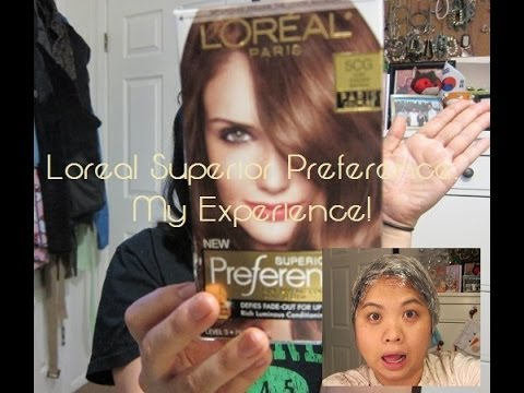 Loreal Superior Preference: Does it work on Dark Hair?