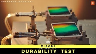 Redmi Y2 Durability Test - The Science Behind Testing | Redmi Note 5 Test | Redmi A2 Durability Test