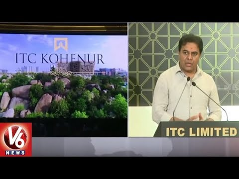 IT Minister KTR Launches ITC Kohenur Luxury Hotel In Madhapur | Hyderabad | V6 News