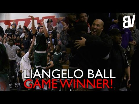 LiAngelo Ball Hits Game Winner To Beat Long Beach Poly! | Chino Hills VS Long Beach Poly