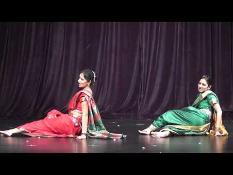 Kalaripayattu, Bharatnatynam, Lavani & Ghumar video