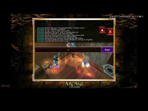 Arcane Legends : 500k gold giveaway contest