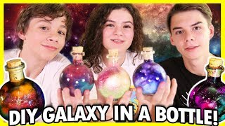 ✨Galaxy in a Bottle! 🌟 DIY Pinterest CHALLENGE! 💫 🌌 Nebulas in a Jar! ⭐