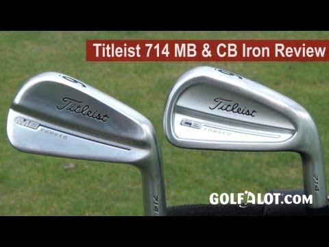 Titleist 714 MB & CB Irons Review by Golfalot