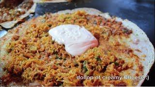 Indian Street Food l MELTING CHEESE MAGGI Noodles Dosa  Cheese Burst Dosa #IndianStreetFood