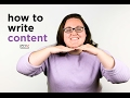 How to Write Content | Clix