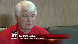 Michigan Veteran Jim Mccloughan To Be Honored By The Peaceful Warriors Foundation