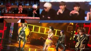 2NE1 TVXQ SUPER JUNIOR I LOVE YOU FANCAM SBS GAYO DAEJUN 2012