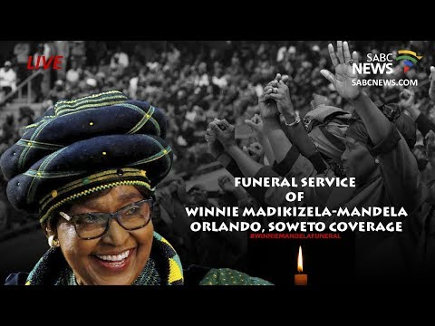 Mama Winnie Madikizela-Mandela funeral coverage, Johannesburg: 14 April 2018