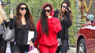 Kourtney Kardashian Asked How Kim Is Doing After French Police Arrest Alleged Robbers