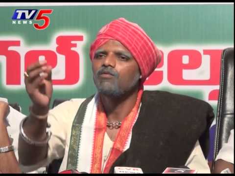 Teenmar Mallanna Punches On Trs & Its False Promises : Tv5 News video