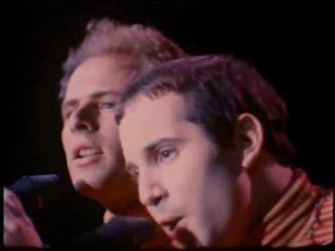 SIMON & GARFUNKEL - Sound of silence   (1967 Live)