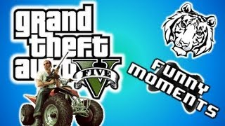 "GTA 5 Funny Moments 2 - Cheat Codes, Explosive Melee, Drunk Mode, and Slow Mo! ""GTA V Gameplay"""
