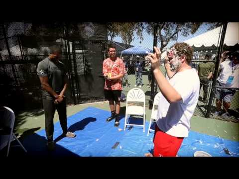 Dallas Cowboys 105.3 The Fan's Pie (in The Face) Challenge
