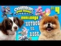 Skylanders Speed Drawing Challenge Part 4: ROSE vs. HOT DOG! ...