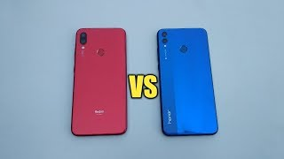 REDMI NOTE 7 VS HONOR 8X - SPEED TEST