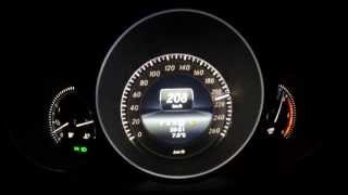 Mercedes-Benz C 350 CDI T 0 - 256 m/h Accelaration - near top Speed