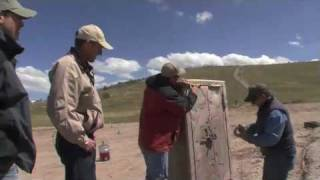 Attacking a Gun Safe with Dynamite & explosive cord