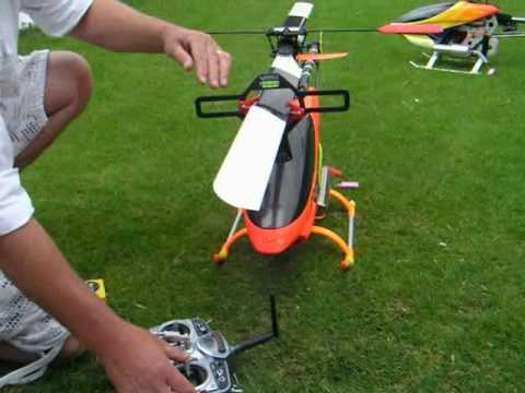 RC Helicopter flybar & pitch set-up