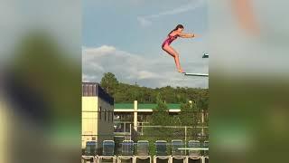 Diving Board Fails Compilation Part 4