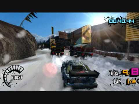 MotorStorm Arctic Edge - My Gameplay(PSP)