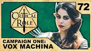 The Elephant in the Room | Critical Role RPG Show Episode 72